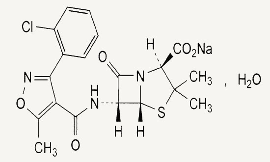 Tegopen Cloxacillin